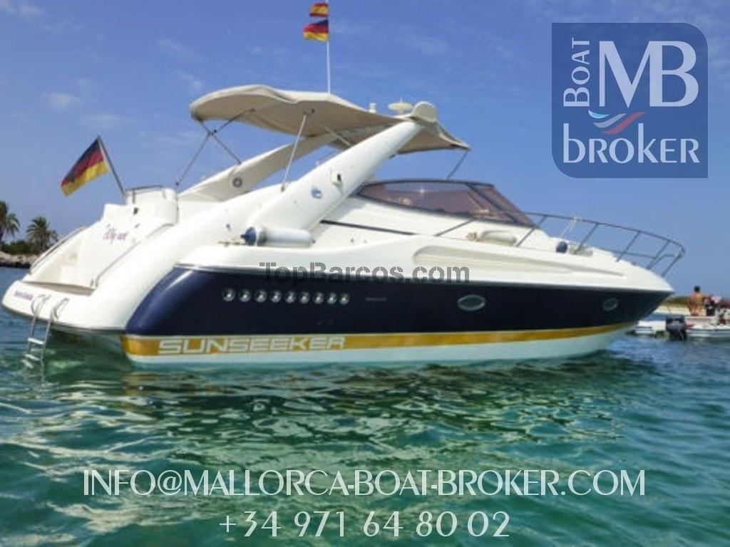 Sunseeker portofino 375 en mallorca por barcos de for Barcos sunseeker nuevos